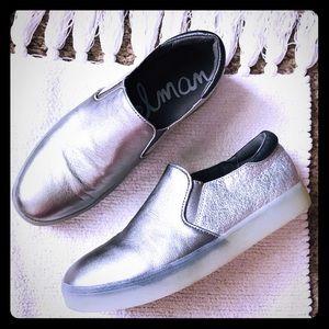 Silver Sam Edelman Tennis Shoes